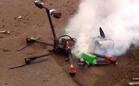 UAV Drone Insurance crash drone